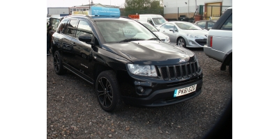 Riverside Cars Feltham - Jeep Compass CRD LIMITED 2WD  SOLD